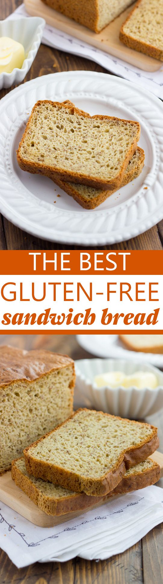 The Best Gluten-Free Sandwich Bread! Delicious flavor and texture. You'll never need to try another recipe!