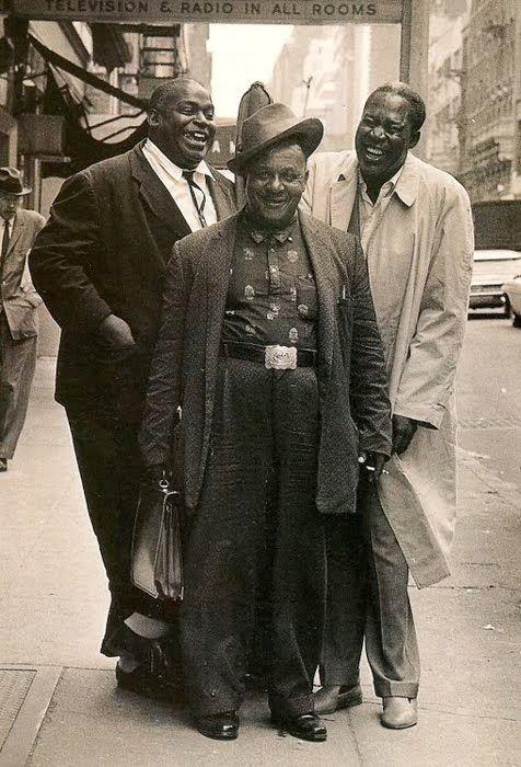 Willie Dixon, Big Joe Williams and Memphis Slim, unknown source