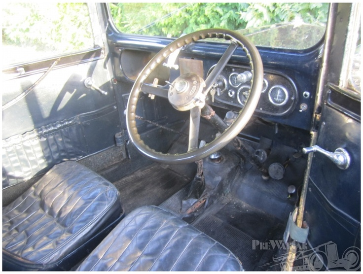 A very original looking interior...lovely.