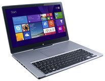 """Acer - Aspire 2-in-1 15.6"""" Touch-Screen Laptop - Intel Core i5 - 8GB Memory - 1TB Hard Drive - Silver"""