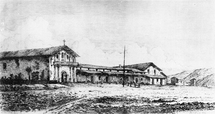 6. Mission San Francisco de Asis aka Mission Dolores, Founded June ...
