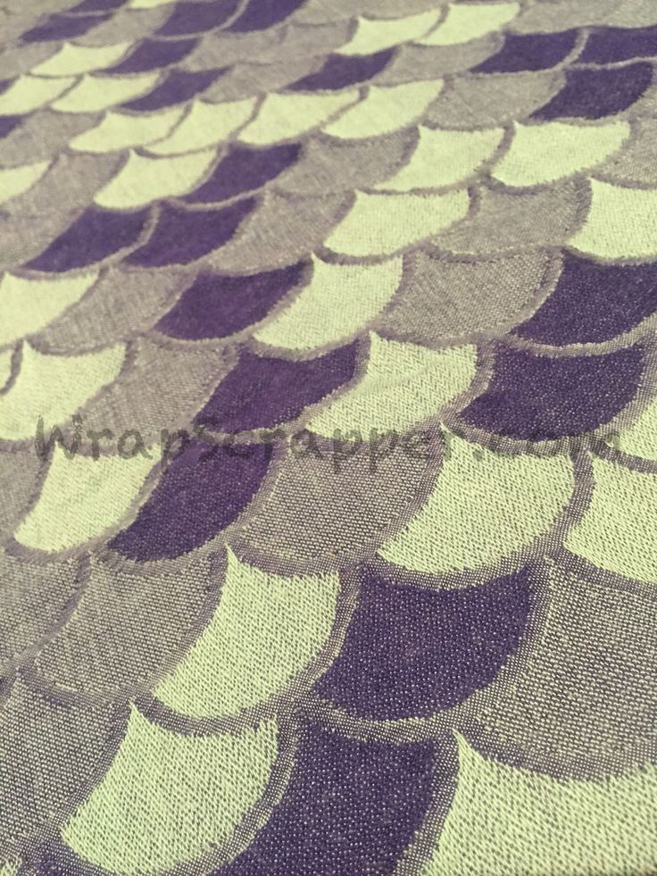 Kokadi Blue Scales Wrap Scrap