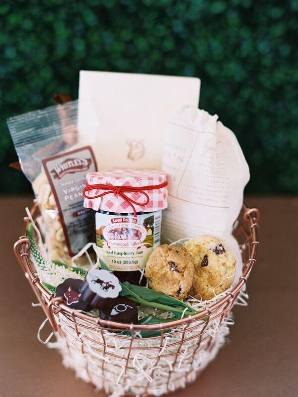 Wedding Welcome Gift Basket Ideas : ... New neighbor welcome, Unique gift basket ideas and Gift baskets