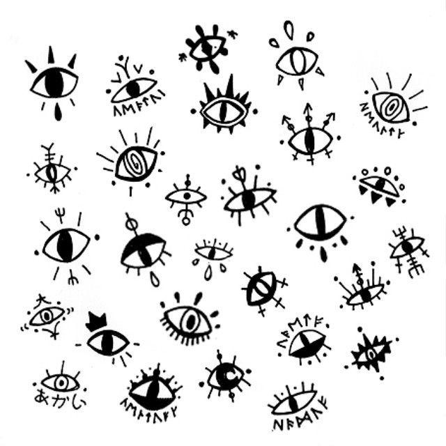 Instagram photo by @glib_m via ink361.com | Ideas | Eyes artwork ...