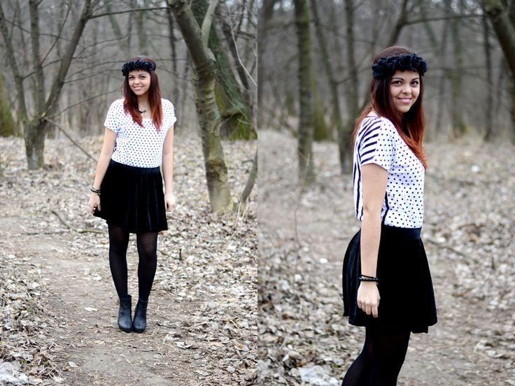 Trend: black velvet skirt http://trendbook.cz/profile/show/Ajvn?blog=1