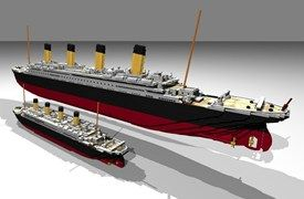 This Lego Titanic could be one of the biggest kits ever