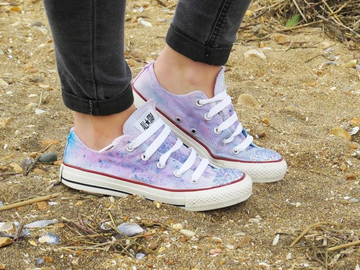 How To custom Your Converse with Dylon Fabric Dye