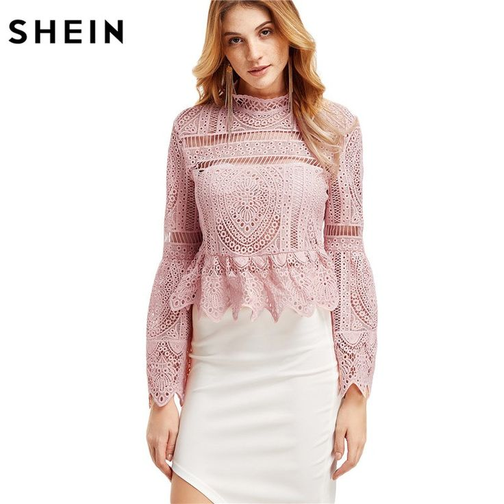 Casual Long Sleeve Tops Shirts Fashion Pink Lace Flare Sleeve Peplum Zipper Back Blouse    56.63, 31.99  Tag a friend who would love this!     FREE Shipping Worldwide     Get it here ---> https://liveinstyleshop.com/casual-long-sleeve-tops-for-women-long-sleeve-shirts-women-fashion-pink-lace-flare-sleeve-peplum-zipper-back-blouse/    #shoppingonline #trends #style #instaseller #shop #freeshipping #happyshopping