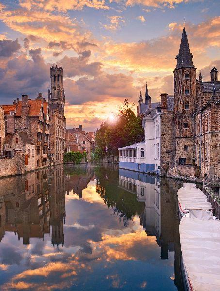Brugge (West-Vlaanderen, België). Bruges (Belgium)