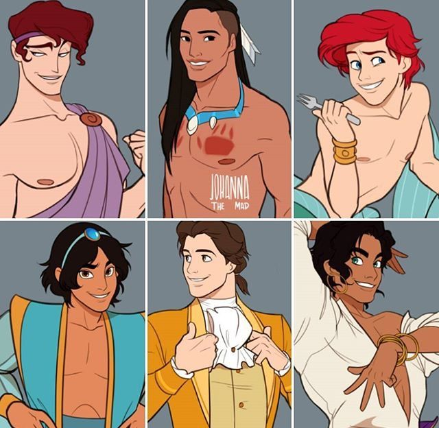 When the guys are the disney princesses. WHAT
