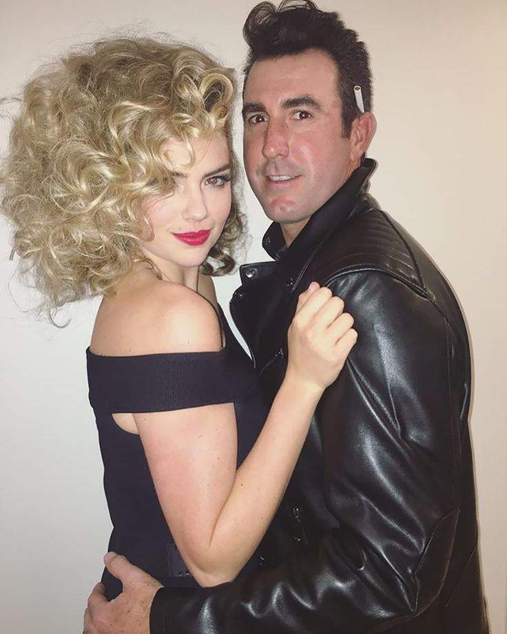 The Best Celebrity Halloween Costumes - Kate Upton and Justin Verlander from InStyle.com