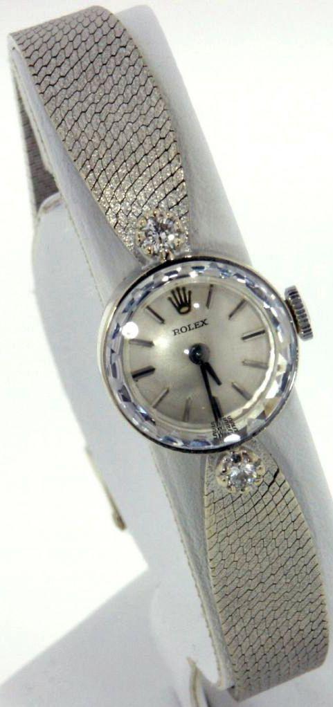 Montre Rolex Femme Or Blanc