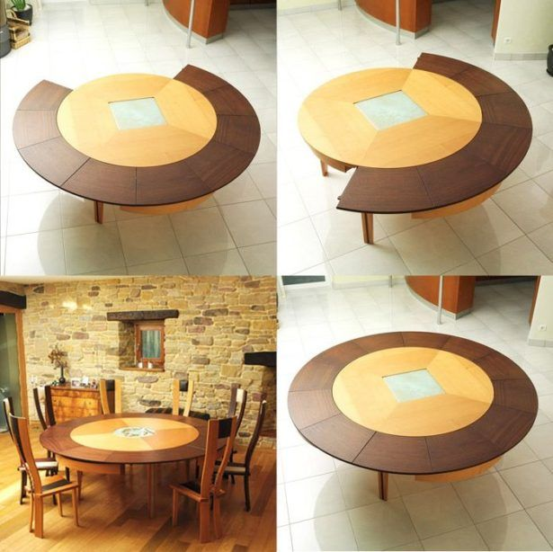 Dining Room:Extendable Dining Tables Decorating Expandable Dining Table  Circular Expanding Table Wood Chairs Rustic
