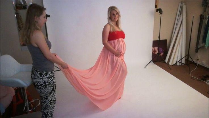 Sesja z brzuszkiem - fotografia ciążowa - studio Fotokraina