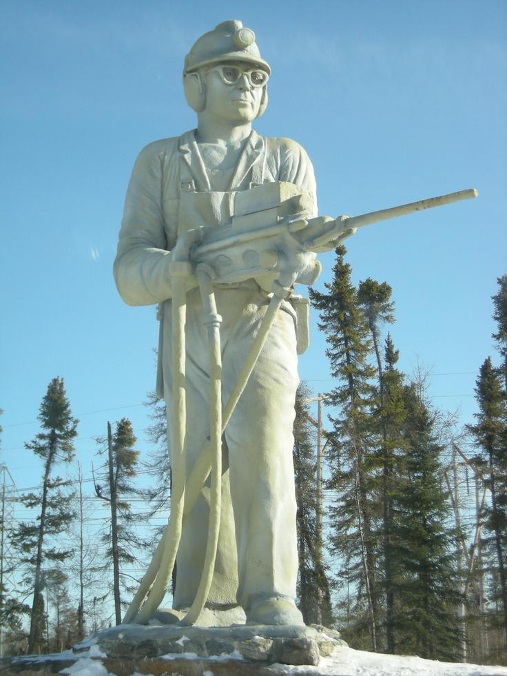 The King Miner in Thompson Manitoba. #exploremb