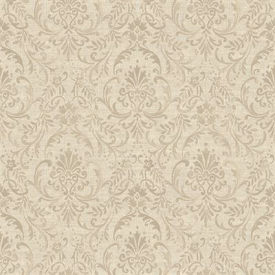 Walls Republic R373 Damask Traditional Floral Ornamental Antique Wallpaper