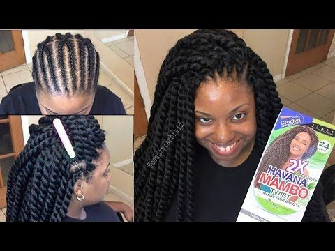 Trending: 30-Minute Crochet Havana Mambo Twists Black Girl with Long ...