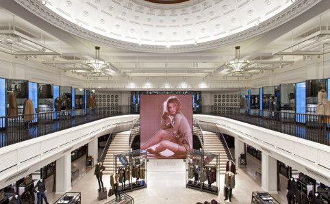 Burberry's impressive new techie store on Regents Street