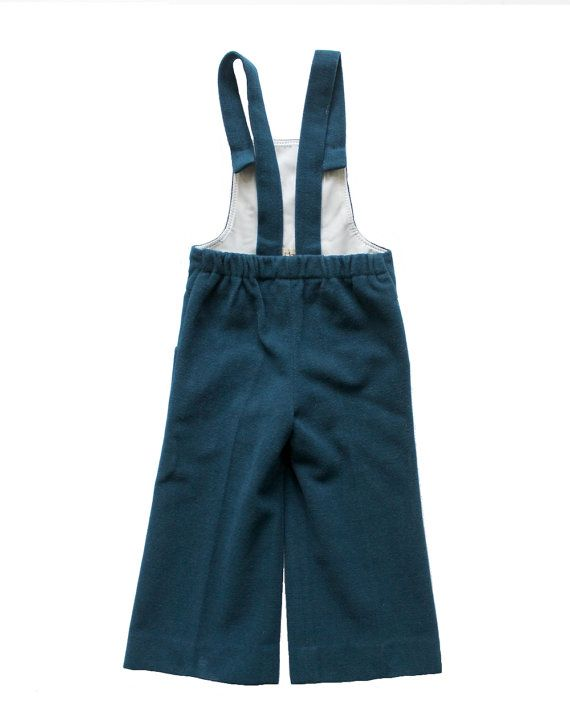 FRENCH vintage 70's / for kids / dungarees / by Prettytidyvintage