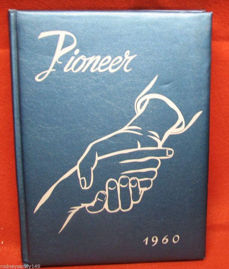 1960 Pioneer Lampeter  -Strasburg High School Lampeter Pennsylvania Year Book