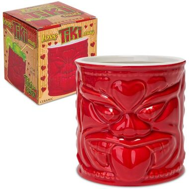 We aren't making any promises of magical powers, but our Love Tiki Mug allegedly causes people to fall in love with one another... forever!  The myth states that the stronger the drink, the more likel