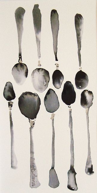 some spoons by Bridget Davies