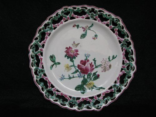 Assiette en faïence de MARSEILLE XVIIIe siècle