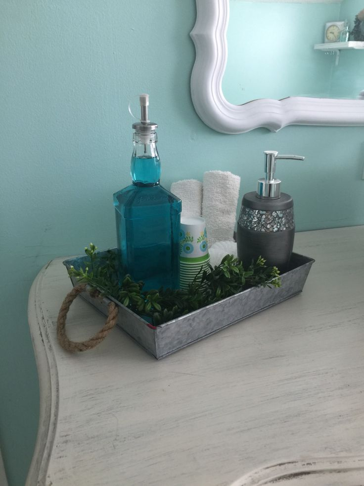 Diy liquor bottle into mouthwash container, using salad vinaigrette topper from the dollar tree