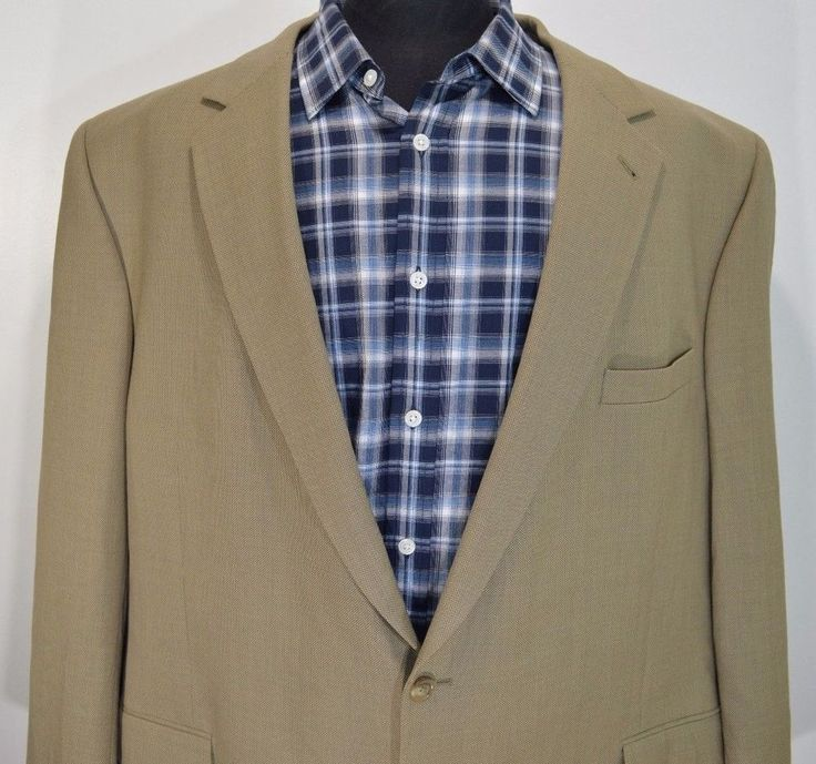 MINT JOSH A BANK SIGNATURE mens wool 2 button sport coat suit