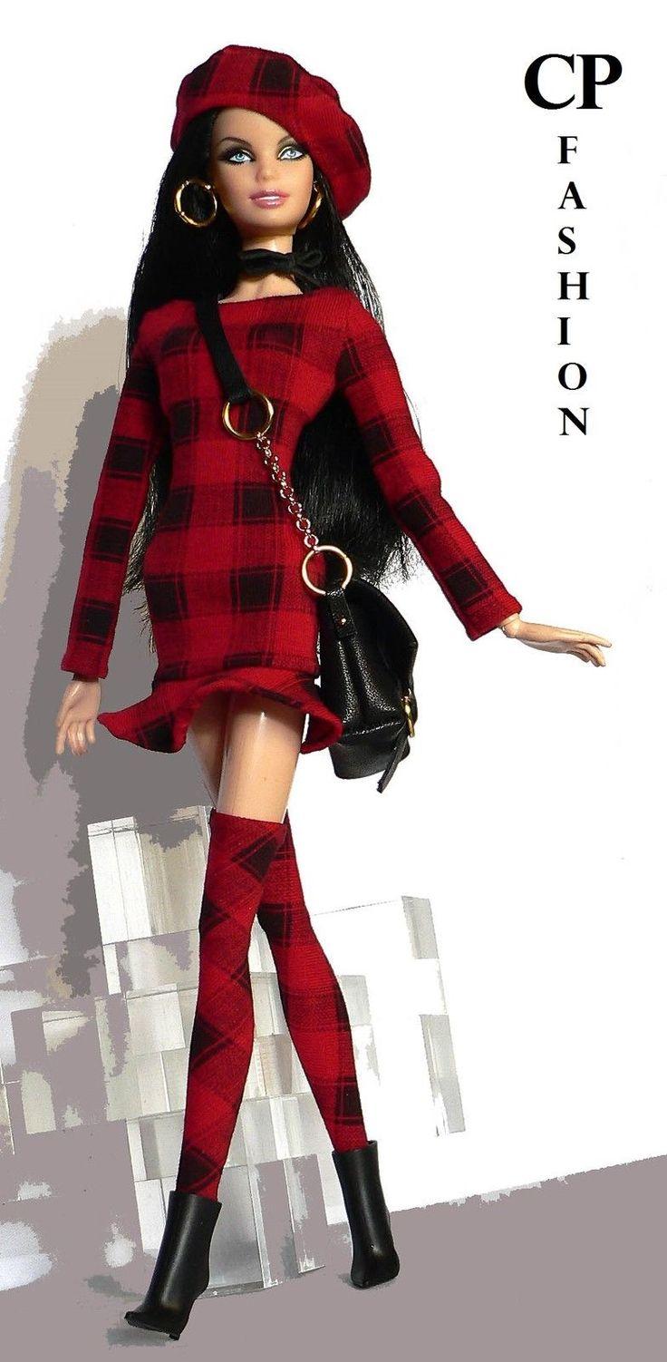 CP Italian Style Handmade Outfit for Barbie Basics Model Pivotal | eBay