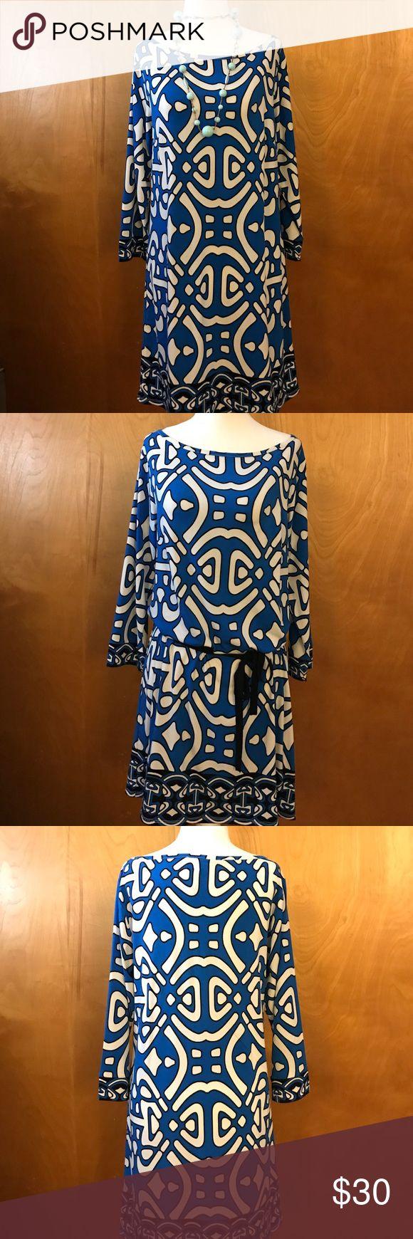 Laundry dress Adorable  print dress. Laundry by Design Dresses Long Sleeve