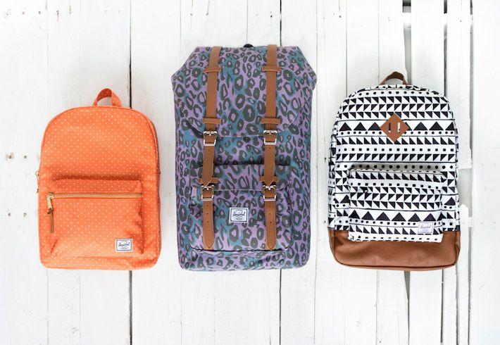 Herschel Supply Fall 2013  #herschel #supply #bags #backpack  http://www.urbag.cz/batohy-herschel-supply-se-vzory-podzim-2013/
