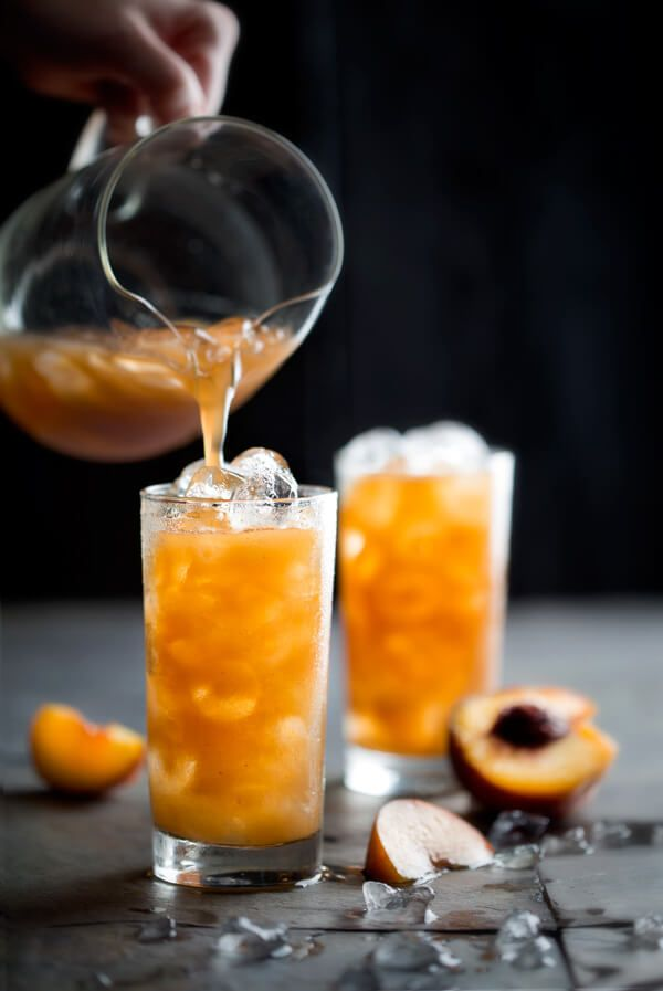 This Tamarind-Peach Agua has only 3 ingredients, but so much flavor. It's tangy, sweet, and earthy