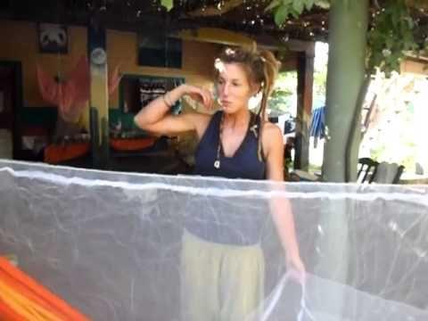 How to Make a Mosquito Net for a Hammock - YouTube vagabondjourney.com