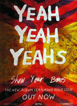 Yeah Yeah Yeah's Show Your Bones: Yeah Yeah
