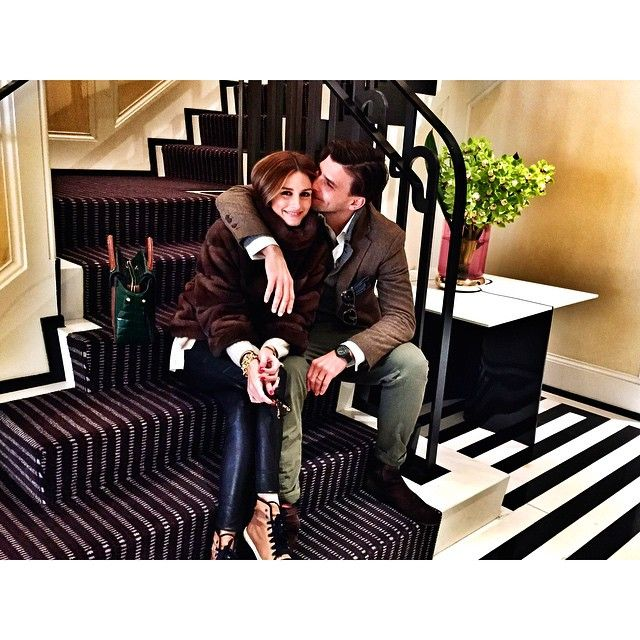 彼氏or旦那様と撮りたいのはこんな写真!オリビア・パレルモ夫妻の素敵すぎるインスタグラム♡