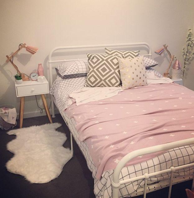 kmart styling. Bedroom