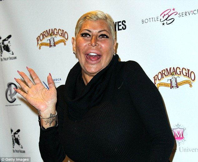 Mob Wives star Angela 'Big Ang' Raiola who has died today at a Manhattan hospital aged 55 after losing her battle with cancer