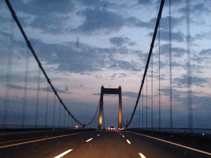 "Bridge crossing ""Lillebælt"" from Jutland to Funen"