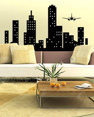 Αυτοκολλητα τοιχου - The City 4 - wall decal