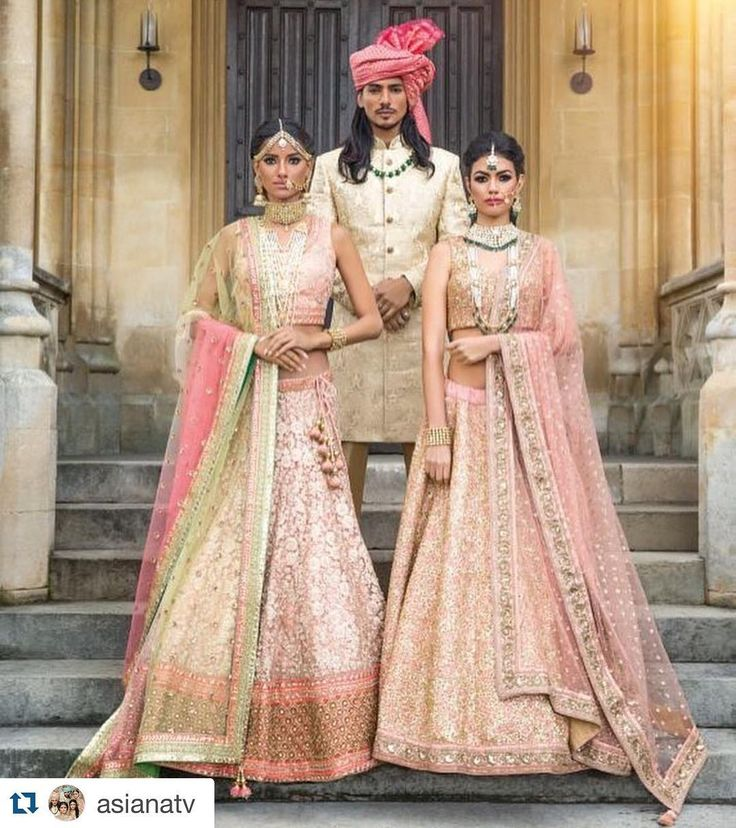 #Repost @asianatv with @repostapp.  A warm and ethereal array of pastel hues in mint green blush pink and coral epitomise Summer for @mongasuk's latest collection featuring regally resplendent designs. Royal sherwanis perfectly complement the lengha ensembles in shades of opulent gold. As seen in Asiana Wedding Magazine Summer 2016 out now in-stores and online: www.asianamag.com  Hair & Make-up: @nazmeenmakeup  Jewellery: @deeyajewellery  Pagri Styling: Vikram @ Safa4weddings.com  Nails…