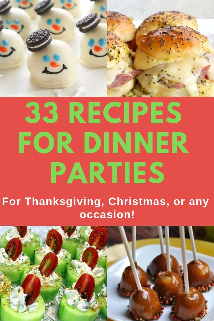 35 Drool Worthy Recipes For Your Next Dinner Party Appetizers Easy Cheap Budget Desserts Cheap Party Food