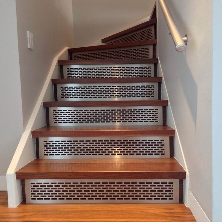 17 best ideas about wood stair treads on pinterest redo - Interior stair treads and risers ...