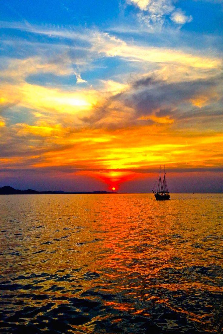 Alfred Hitchcock said that Zadar Croatia had the most beautiful sunsets... and he was right!