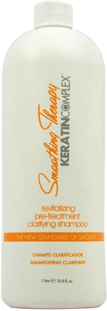 Keratin Complex - Smoothing Therapy Revitalizing Pre-Treatment Clarifying Shampoo (32 oz.)