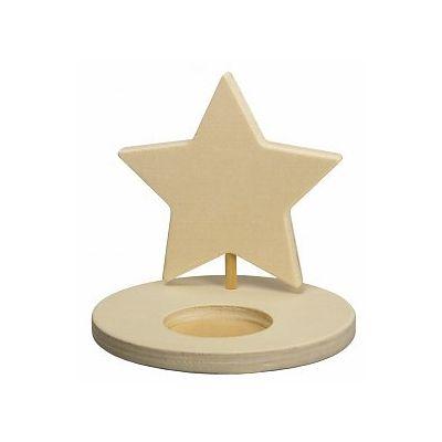 Theelicht ster - http://credu.nl/product-categorie/sint-kerst/