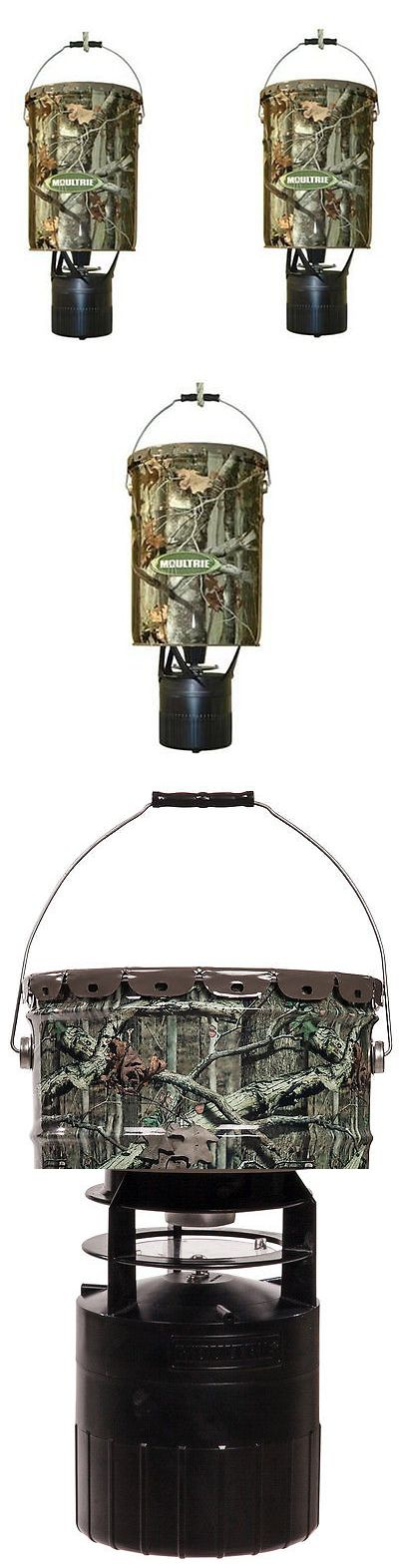 Game Feeders and Feed 52504: 2 Moultrie Mfh-Ep 6.5 Gallon Econo Plus Hanging Deer Feeders W/ Photocell Timer BUY IT NOW ONLY: $89.99
