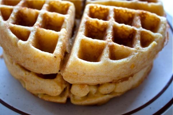 Pamelas Cornbread Waffles GF | Cornbread waffles, Waffles ...