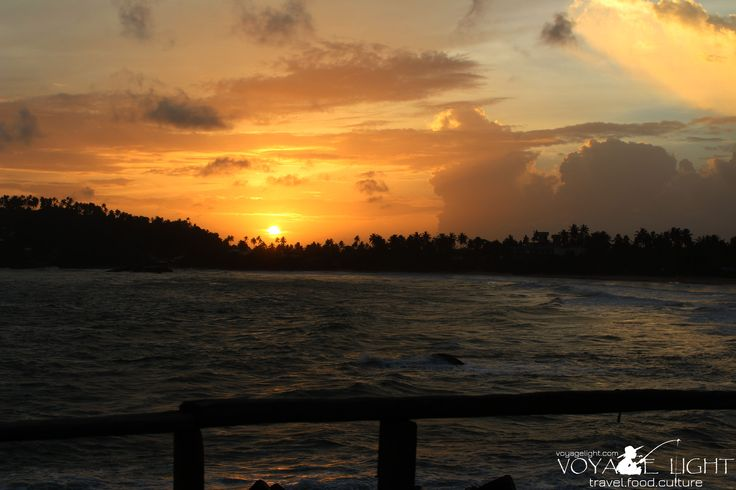Sunset, Mirissa beach