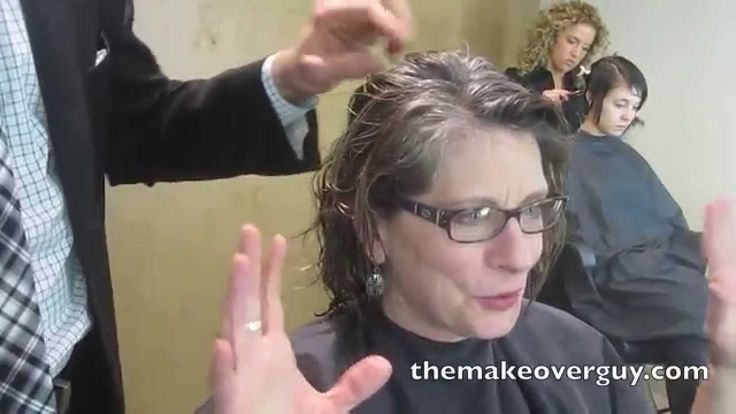Makeover Reveal My Natural Gray Hair By Christopher